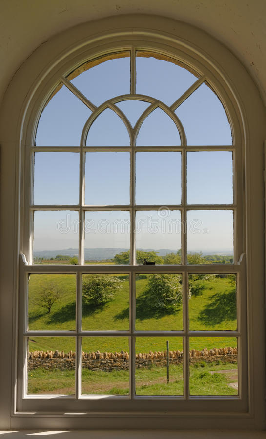 Una vista del Cotswolds imagen de archivo libre de regalías