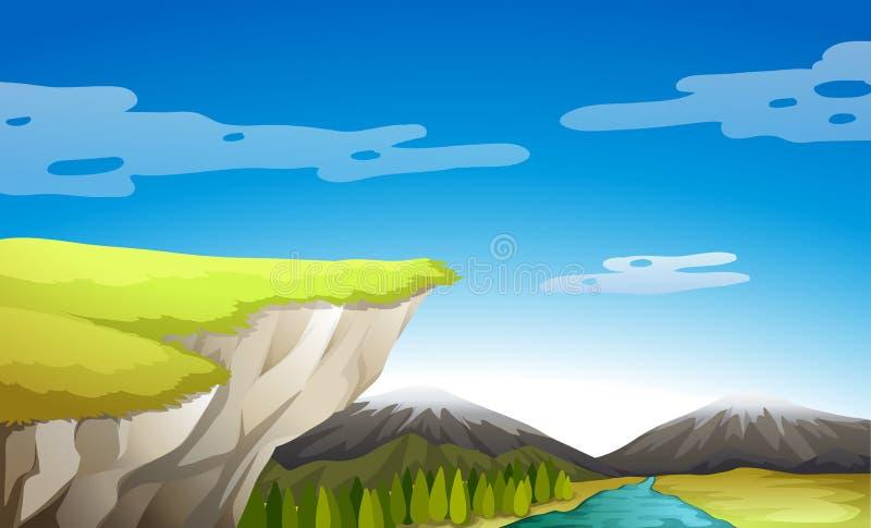 Una vista della natura royalty illustrazione gratis