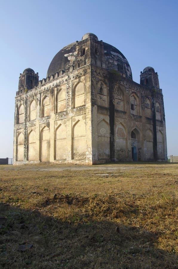 Una vista di Chor Gumbaz, Gulbarga, il Karnataka fotografia stock