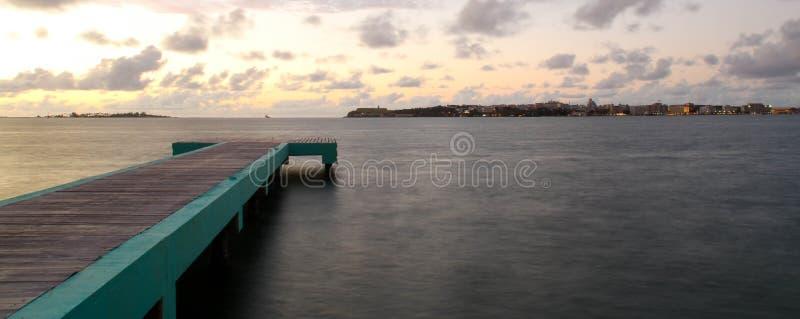 Una vista di oceano immagini stock