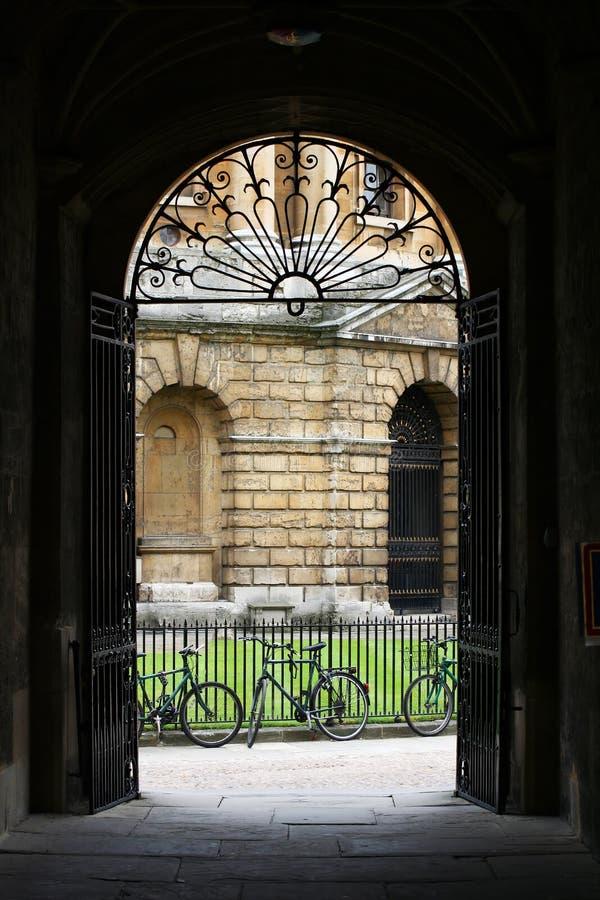 Una vista di Oxford fotografie stock