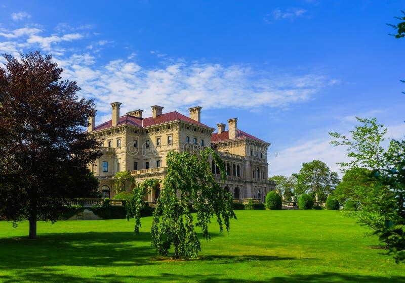 Palazzo di Newport Rhode fotografia stock libera da diritti