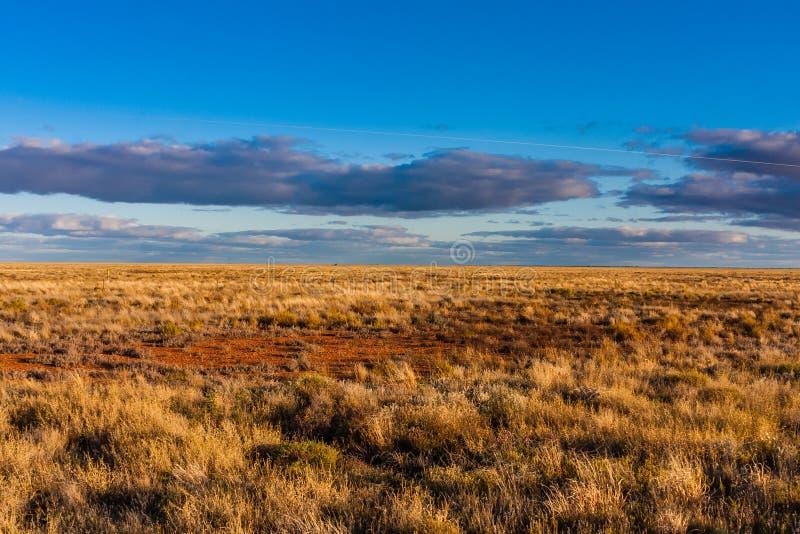 Una vista escénica del interior australiano, sur de Australia imagenes de archivo