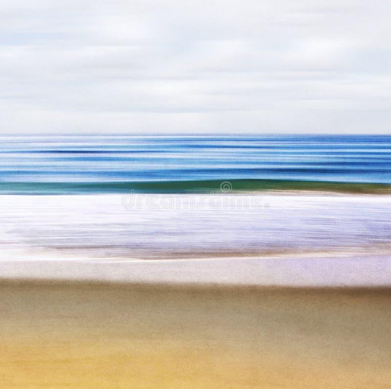 Estratto di vista sul mare immagini stock libere da diritti