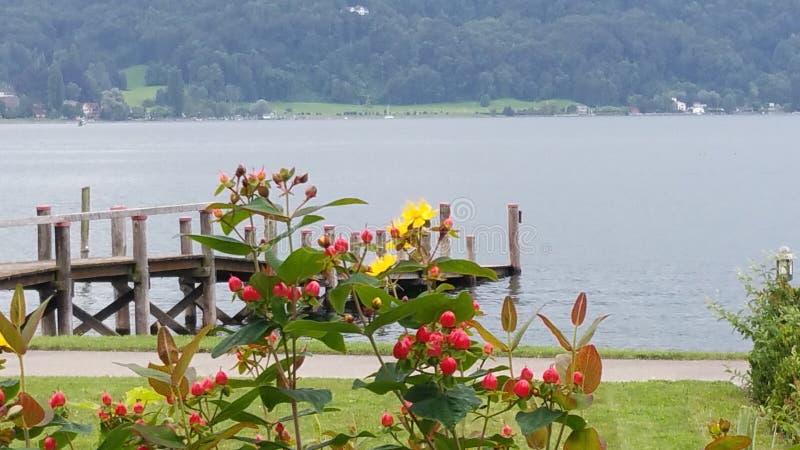 Una vista in Svizzera fotografie stock libere da diritti