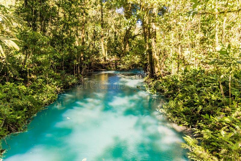 Una vista tipica in Costa Rica fotografia stock