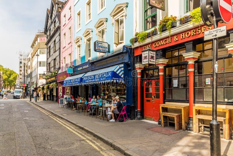 Una vista tipica a Londra immagini stock