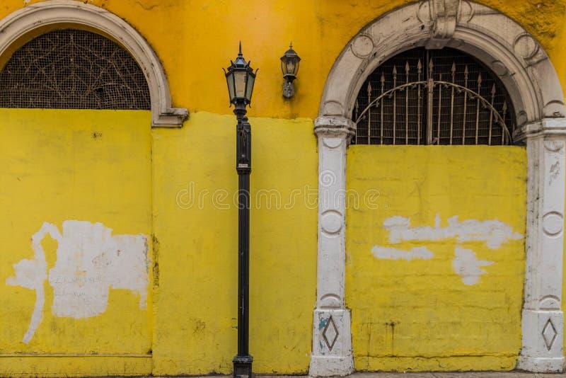 Una vista tipica in Panamá nel Panama immagine stock libera da diritti