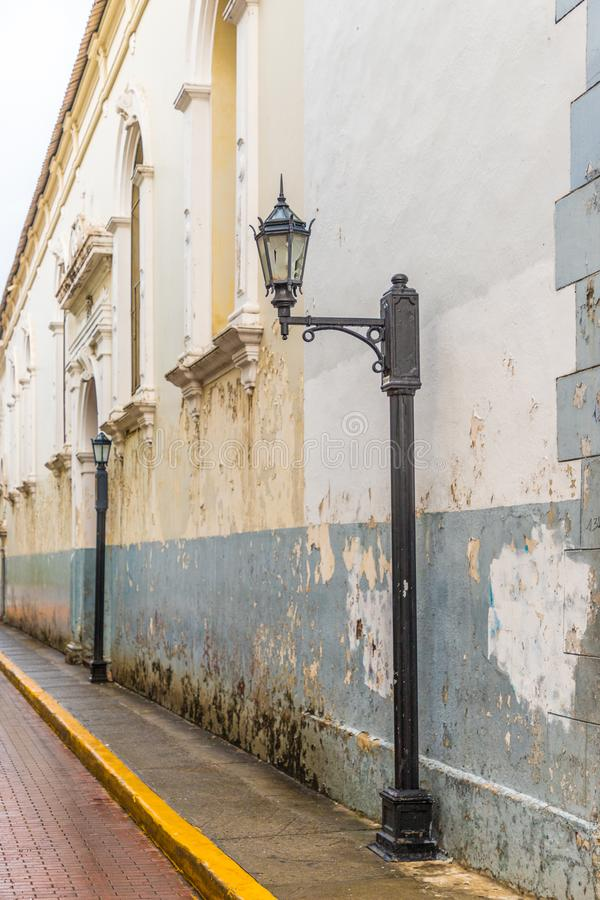 Una vista tipica in Panamá nel Panama immagine stock