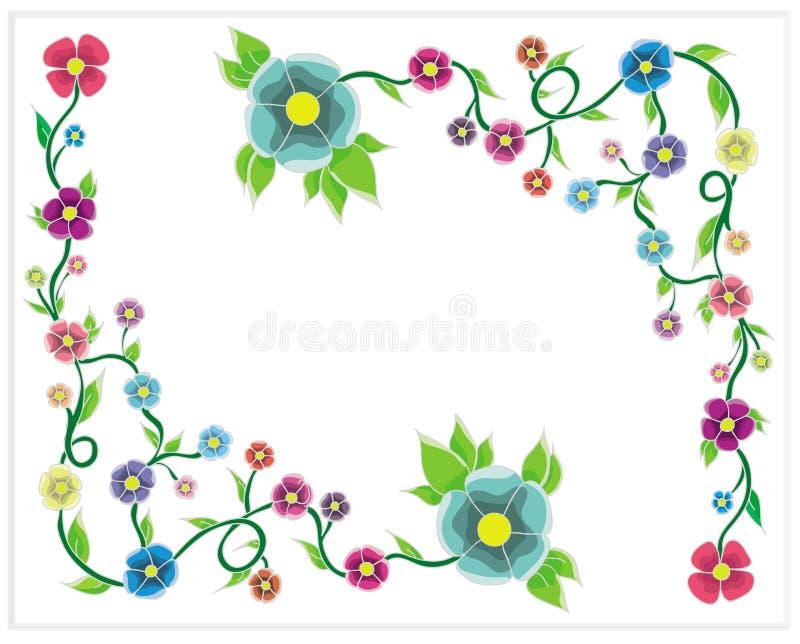 Una vite del fiore royalty illustrazione gratis