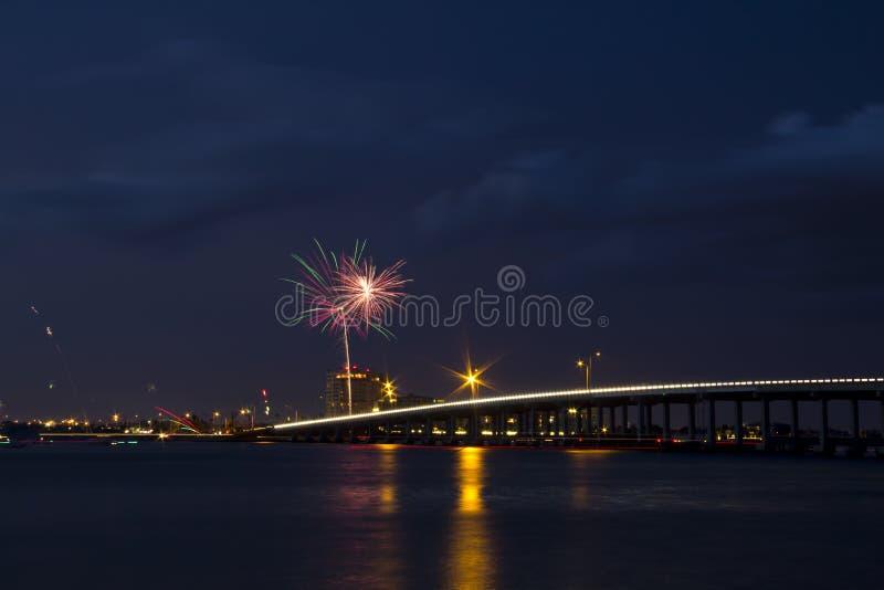 Unabhängigkeit auf dem Fluss stockfotografie