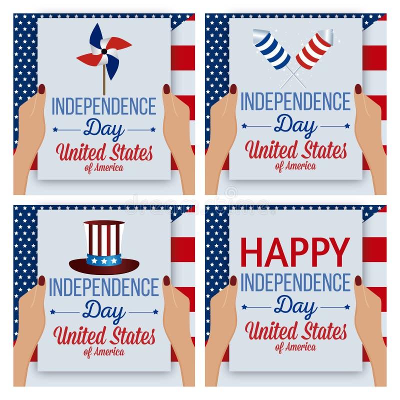 Unabhängigkeit Day lizenzfreies stockfoto