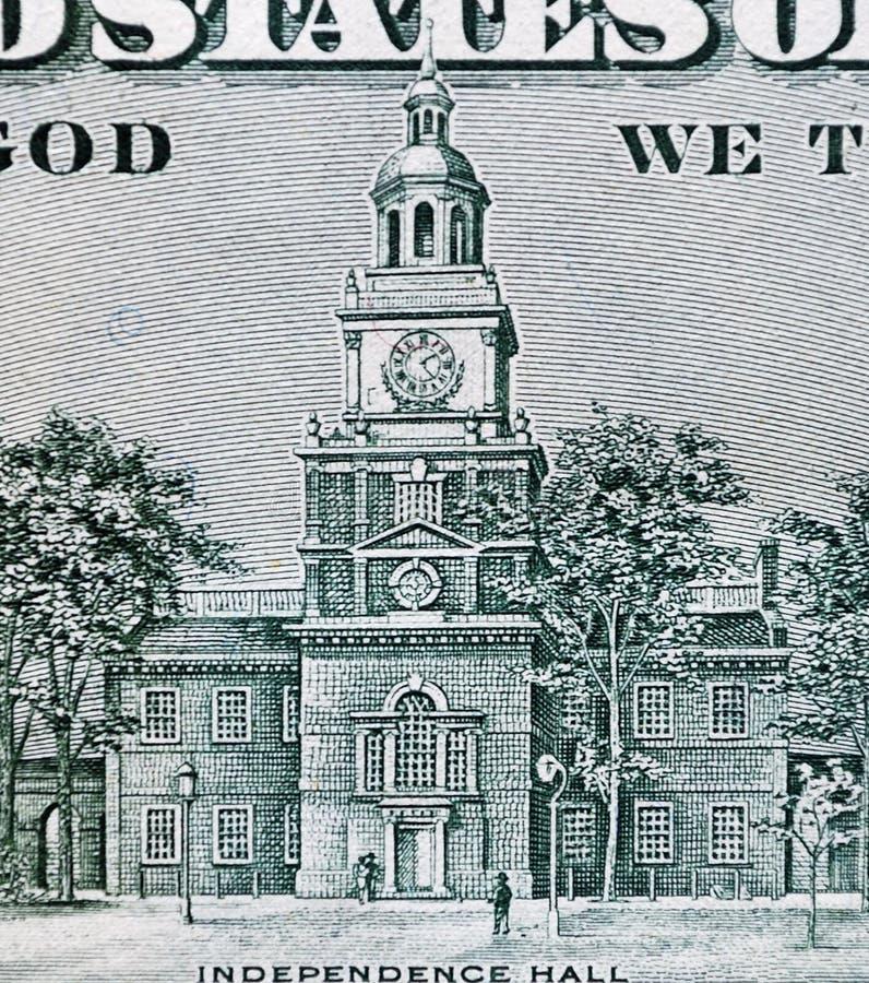 Unabhängigkeit Hall lizenzfreies stockbild