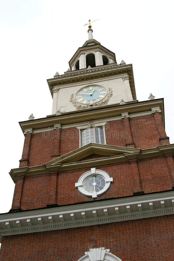Unabhängigkeit Hall lizenzfreies stockfoto