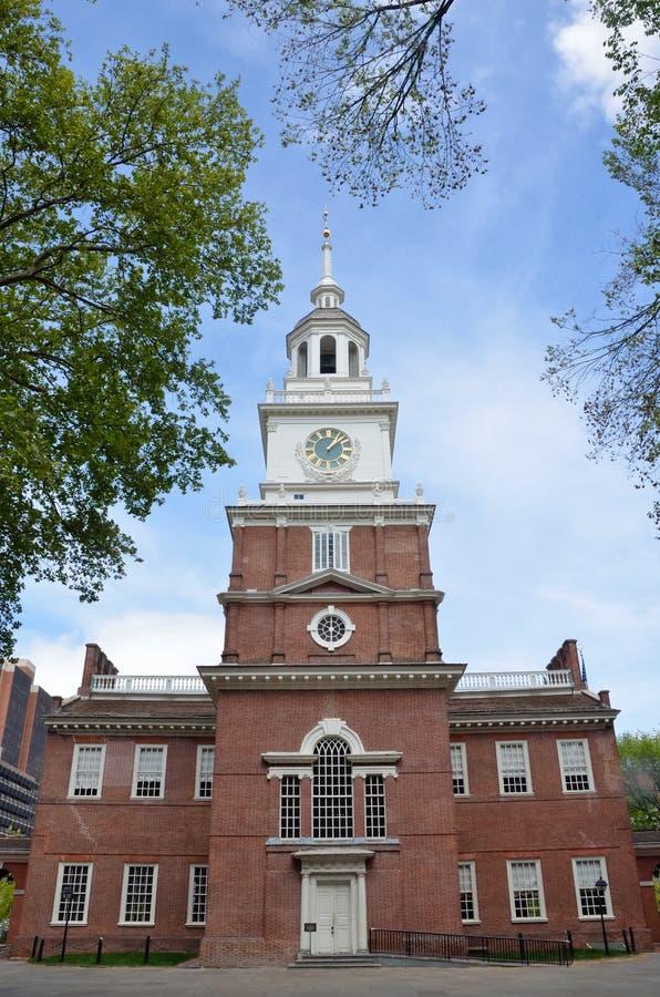 Unabhängigkeit Hall, Philadelphia lizenzfreies stockbild