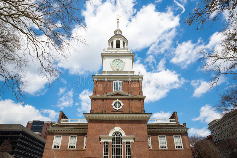 Unabhängigkeit Hall Philadelphia stockbilder