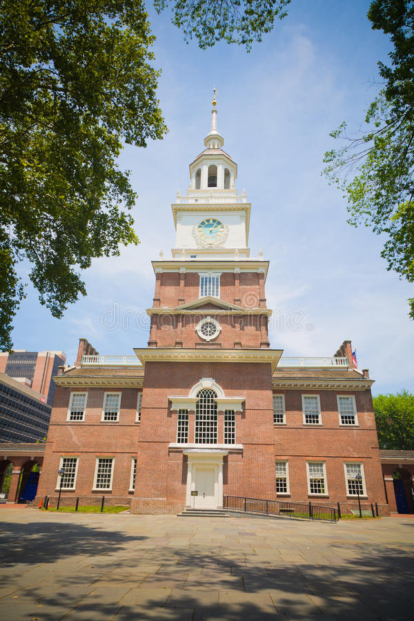 Unabhängigkeit Hall, Philadelphia, PA, USA stockbilder