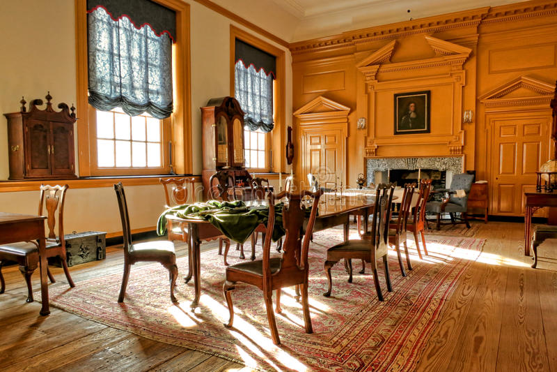 Unabhängigkeit Hall in Philadelphia Pennsylvania lizenzfreies stockfoto
