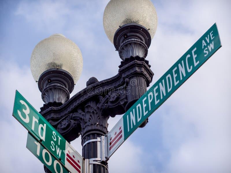 Unabhängigkeits-Allee stockbild
