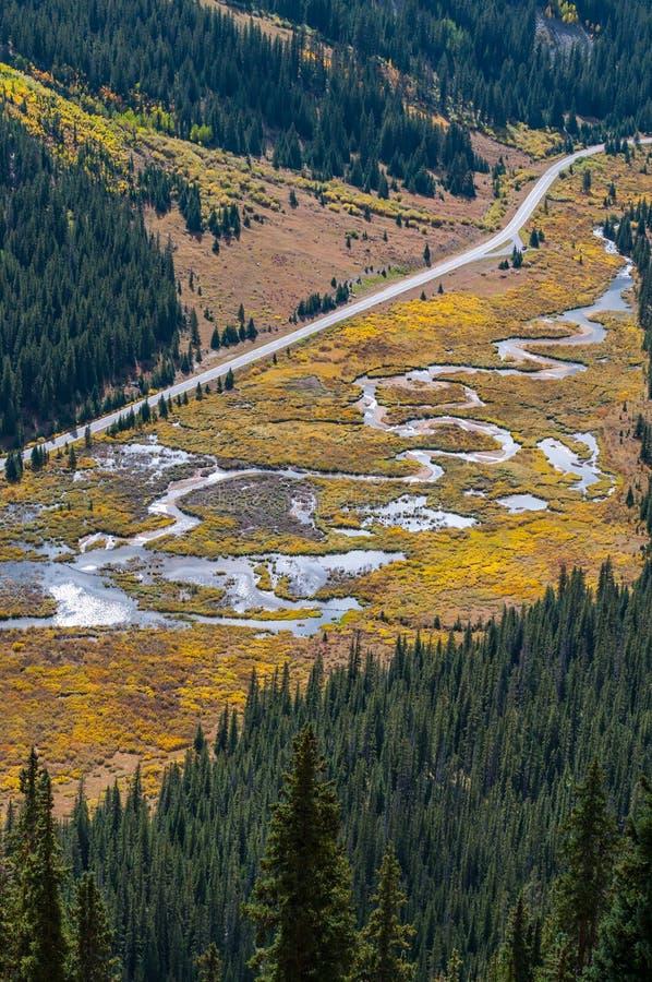 Unabhängigkeits-Durchlauf Colorado lizenzfreies stockbild