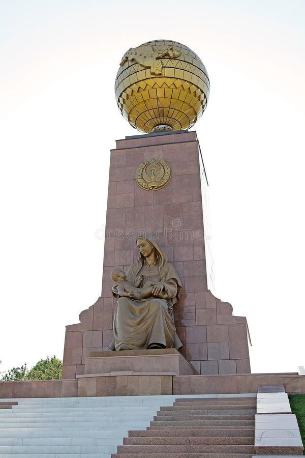 Unabhängigkeits-Monument stockbilder
