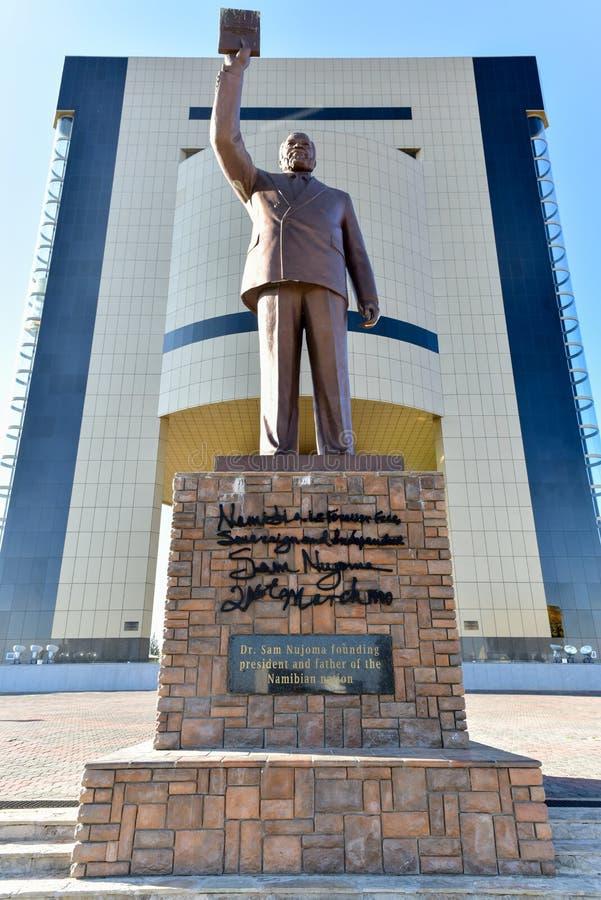 Unabhängigkeits-Museum, Windhoek, Namibia, Afrika lizenzfreie stockfotografie