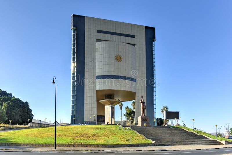 Unabhängigkeits-Museum, Windhoek, Namibia, Afrika lizenzfreies stockfoto