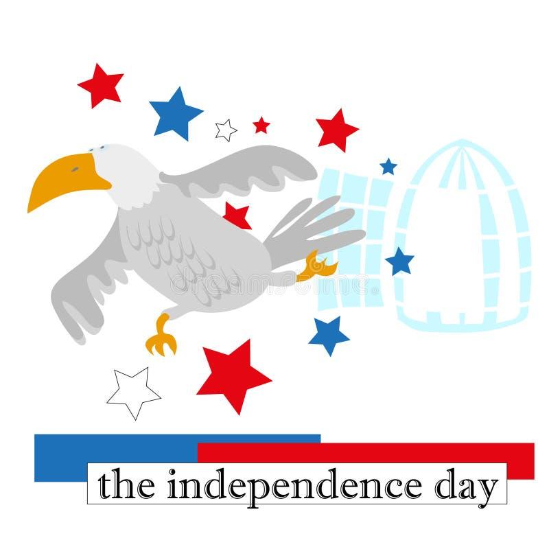 Unabhängigkeitstag stockbild