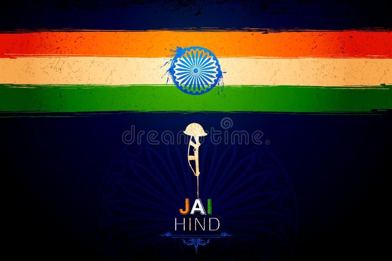 Unabhängigkeitstag von Indien stock abbildung
