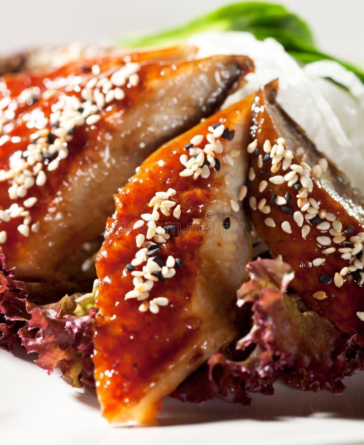 Download Unagi Sashimi stock image. Image of diet, meal, cuisine - 24828997