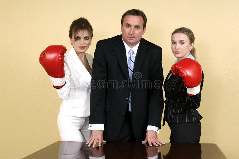 The unbeatable team stock image