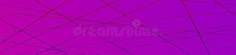 Unbedeutender geometrischer Hintergrund Fahne mit modischer dünner Linie Zusammenfassungsformzusammensetzung lizenzfreies stockbild