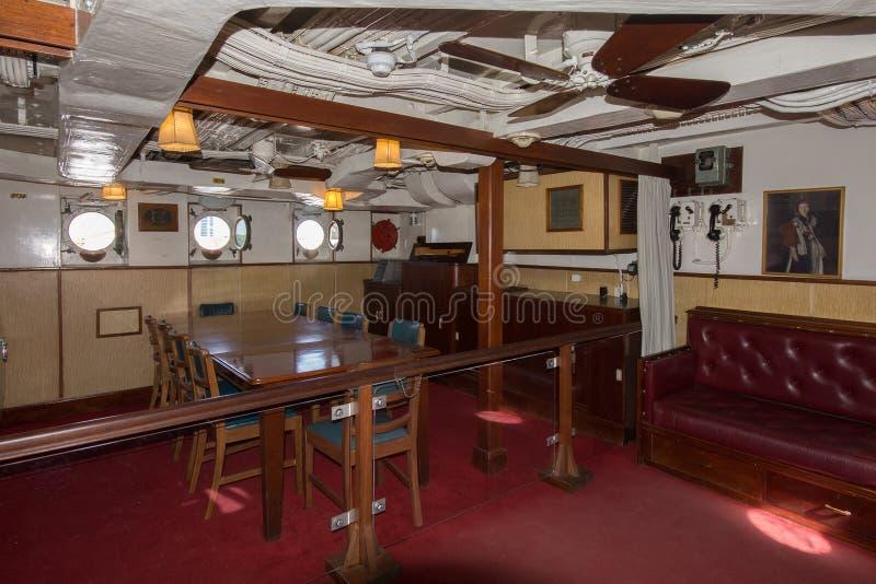 Unbekümmerte Offiziersmesse HMS lizenzfreie stockfotografie