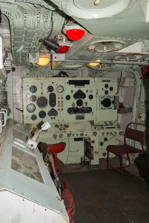 Unbekümmerte Schießwesen-Leitstelle HMS lizenzfreies stockfoto