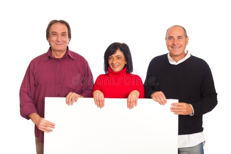 Unbelegte Anschlagtafel stockfotografie