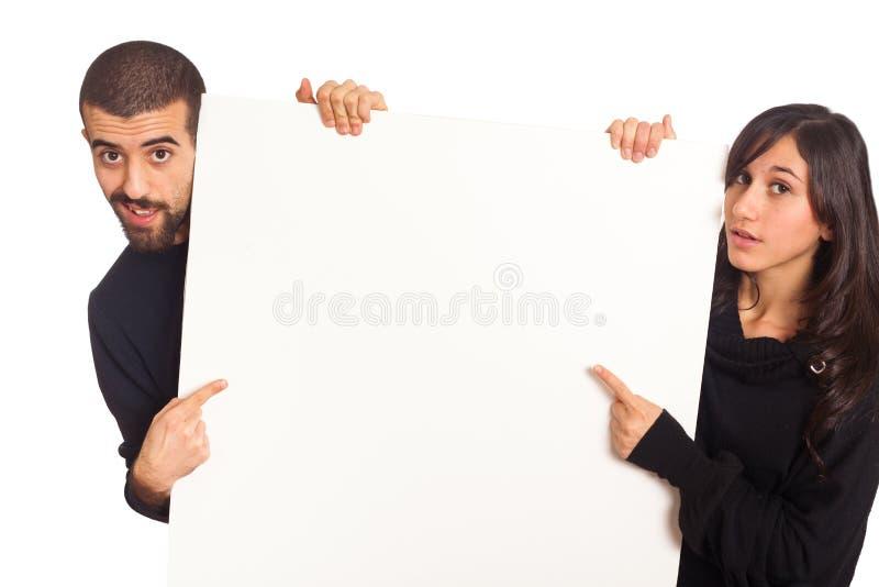 Unbelegte Anschlagtafel stockfotos