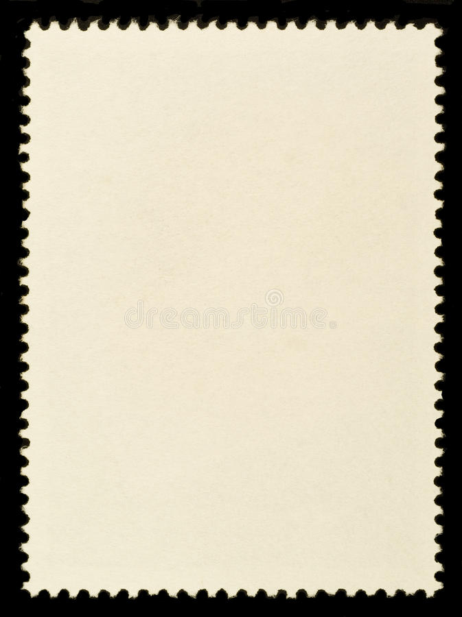 Unbelegte Briefmarke lizenzfreies stockfoto