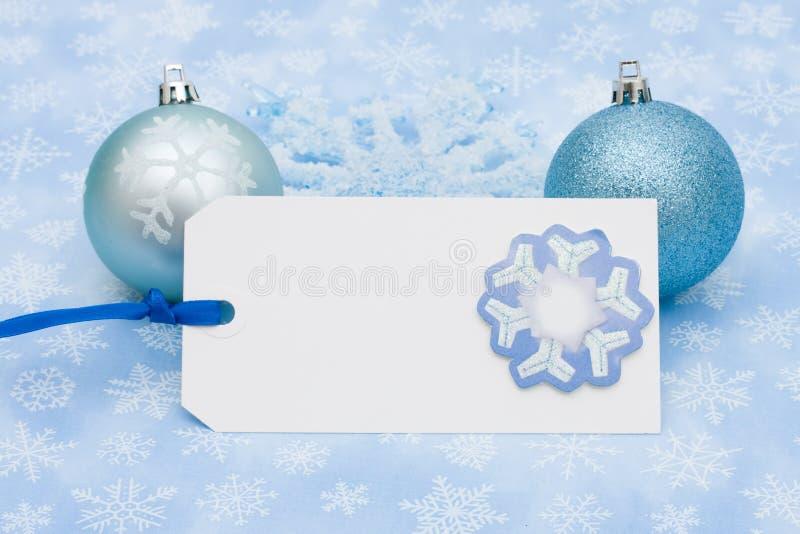 Download Unbelegte Geschenk-Marke stockfoto. Bild von hintergrund - 12203194