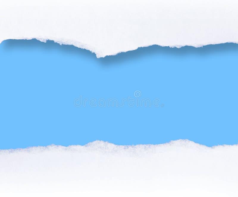 Unbelegte Meldungrolle lizenzfreies stockbild