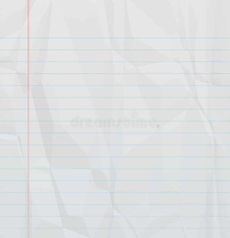 Unbelegte Notizbuchseite vektor abbildung