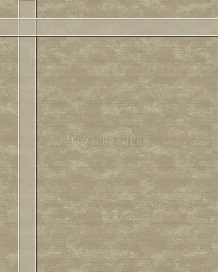Unbelegte Schablone stock abbildung