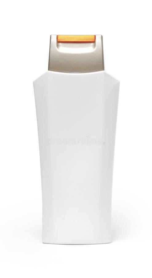 Unbelegte Shampoo-Flasche lizenzfreie stockfotos