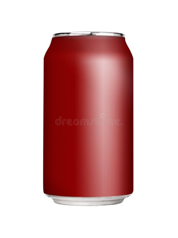 Unbelegte Soda-Dose lizenzfreies stockfoto