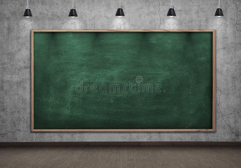 Unbelegte Tafel vektor abbildung