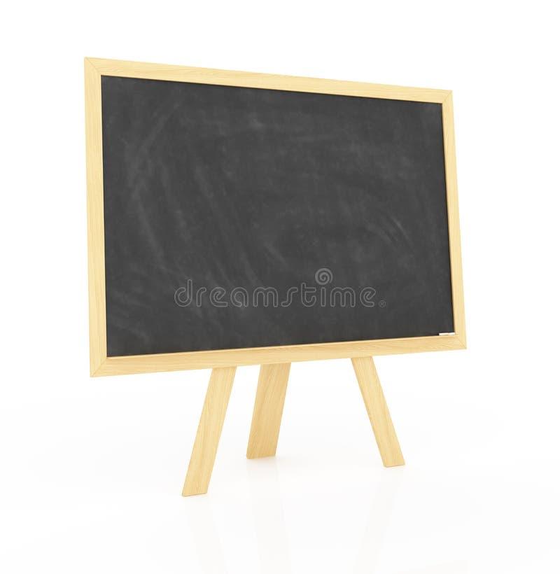 Download Unbelegte Tafel mit Buch stock abbildung. Illustration von schwarzes - 26364043