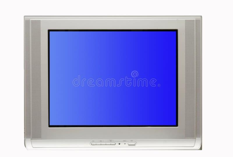 Unbelegter Fernsehapparat stockbilder