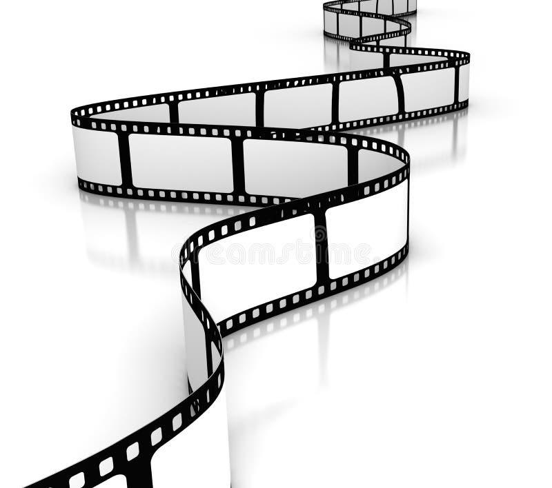 Unbelegter Film lizenzfreie abbildung