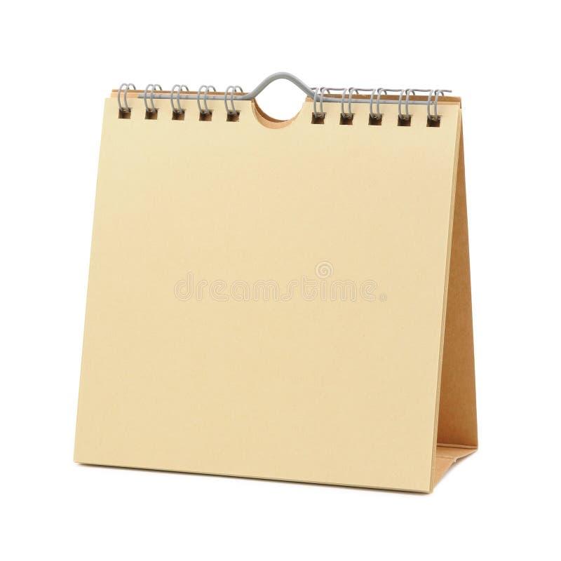 Unbelegter Kalender stockfoto