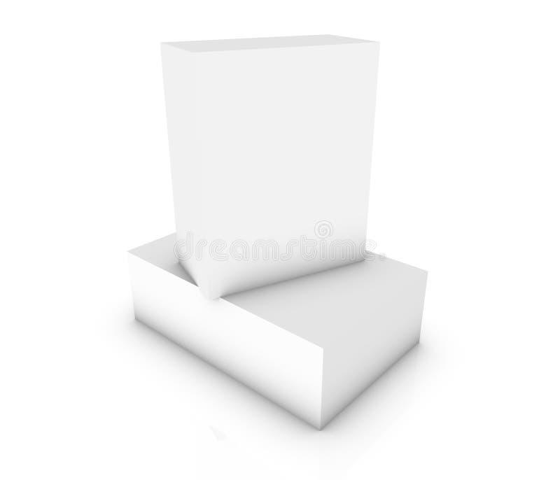 Unbelegter Kasten vektor abbildung