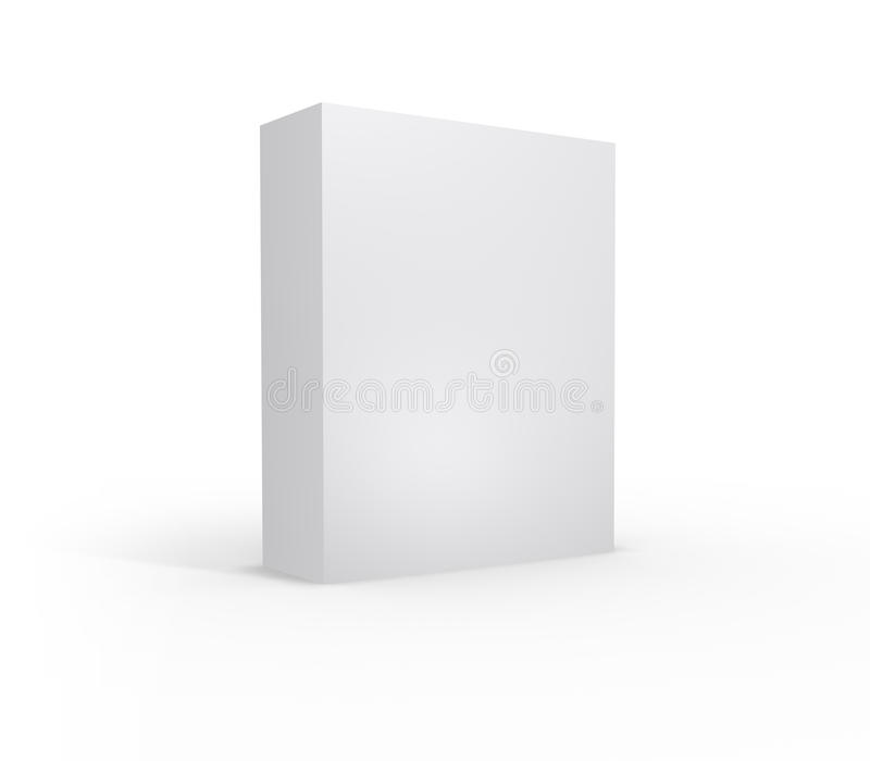 Unbelegter Produkt-Kasten - XL